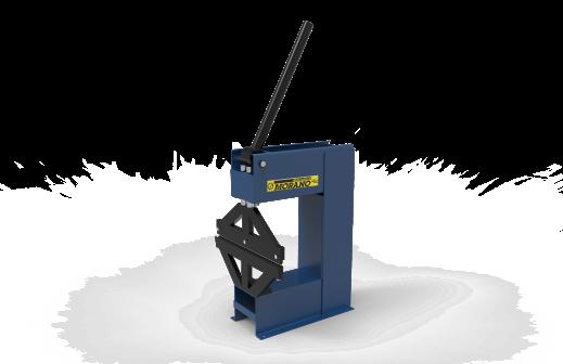 Plegadora de chapa 400 mm MORANO
