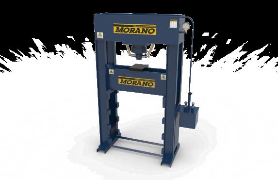 Prensa hidráulica 70tn Pie 4 columnas doble bomba MORANO