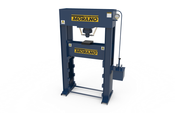 Prensa hidráulica 100tn Pie 4 columas doble bomba MORANO